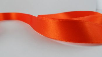 Ruban satin Orange 10mm (200m)