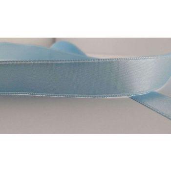 Ruban satin Bleu Glacier 15mm (100m)