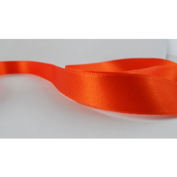 Ruban satin Orange 15mm (100m)