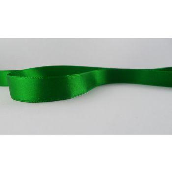 Ruban satin Vert 15mm (100m)